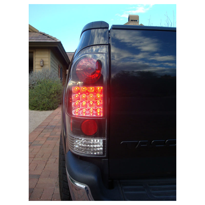 05 12 toyota tacoma pickup euro style led tail lights. Black Bedroom Furniture Sets. Home Design Ideas