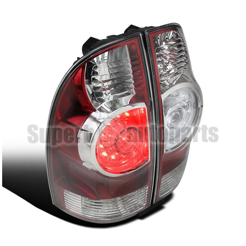 05 15 toyota tacoma facelift style led tail lights red. Black Bedroom Furniture Sets. Home Design Ideas