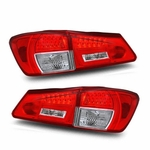 06-08 Lexus IS250/IS350 LED Tail Lights - Red Clear