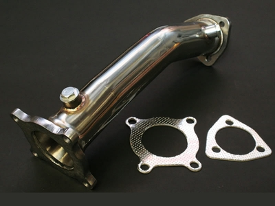 06-09 AUDI A4 2.0T STAINLESS CAT-DELETE DOWNPIPE EXHAUST