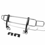 06-10 Hummer H3 / H3T OE Style Front Bumper Brush Bull Bar Grille Guard - Chrome