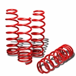 "06-12 Lexus IS250/IS350 1.25"" Drop Suspension Lowering Springs - Red"
