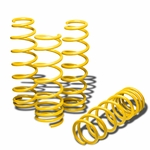 "06-12 Lexus IS250/IS350 1.25"" Drop Suspension Lowering Springs - Yellow"