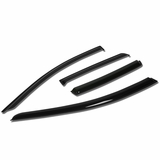 07-11 Chevy Aveo T200 Hatchback 4pcs Window Vent Visor Deflector Rain Guard (Dark Smoke)