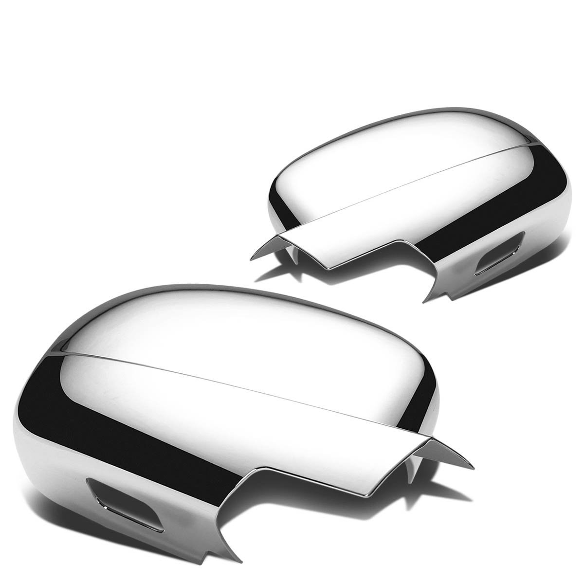 07 13 chevy suburban 4dr chrome plated door handle mirror cover trim