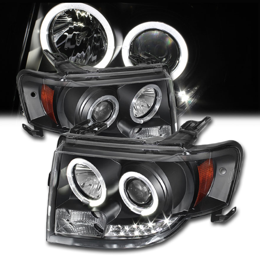 projection headlights Led halo projector headlight problem discussion in  if they're made by the same company that made the angel eye headlights i got for my old vw there are.