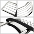 08-10 Ford F250 / F350 / F450 / F550 Superduty Front Bumper Protector Brush Grille Guard (Chrome)