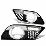 08-10 Mercedes Benz C300 / C350 [w/ AMG Sport Bumper] LED DRL Fog Lights