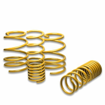 "08-11 Subaru Impreza WRX/ STI 1.5"" Drop Suspension Lowering Springs - Yellow"