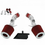 09-12 Nissan 370Z / 08-10 Infiniti G37 3.7L V6 Performance Heat Shield Air Intake - Red Filter