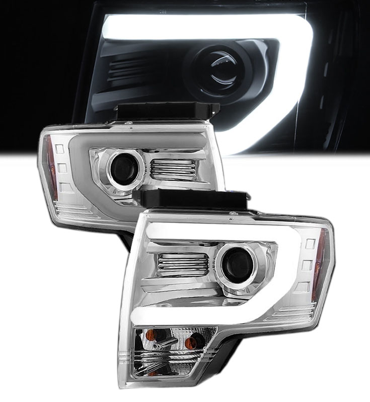 Nine Four Ford F Optic Drl Performance Projector Headlights