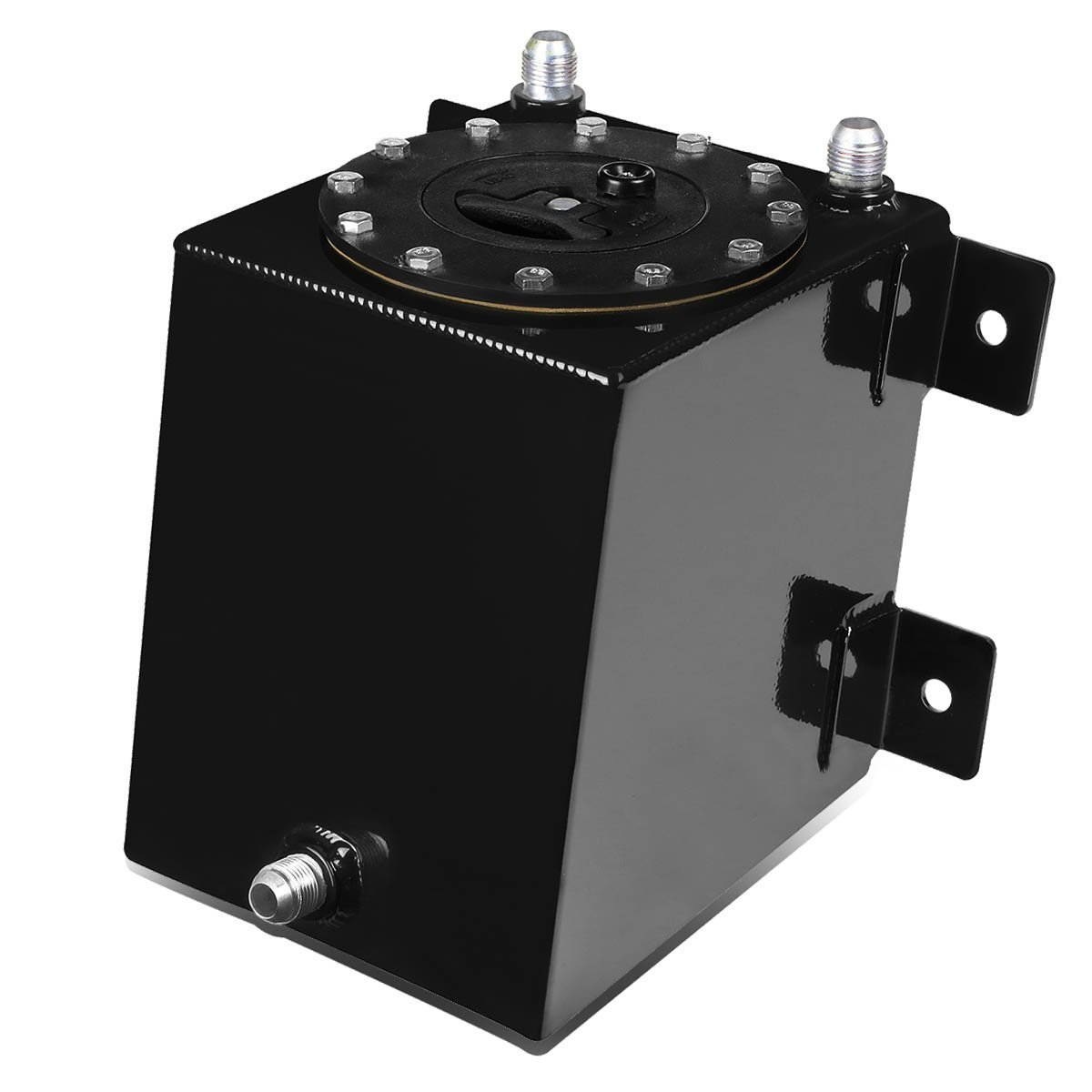 1 Gallon 3 75 Liter Aluminum Racing Bottom Feed Fuel Cell