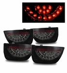 10-13 Chevy Camaro Euro Style LED Tail Lights - Smoked