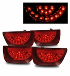 10'-13' Chevy Camaro LT LS SS LED Tail Lights - Red