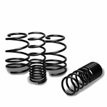 "10-13 Kia Forte 1.3"" Drop Racing Suspension Lowering Springs - Black"