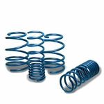 "10-13 Kia Forte 1.3"" Drop Racing Suspension Lowering Springs - Blue"
