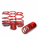 "10-13 Kia Forte 1.3"" Drop Racing Suspension Lowering Springs - Red"