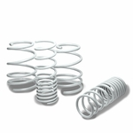 "10-13 Kia Forte 1.3"" Drop Racing Suspension Lowering Springs - White"