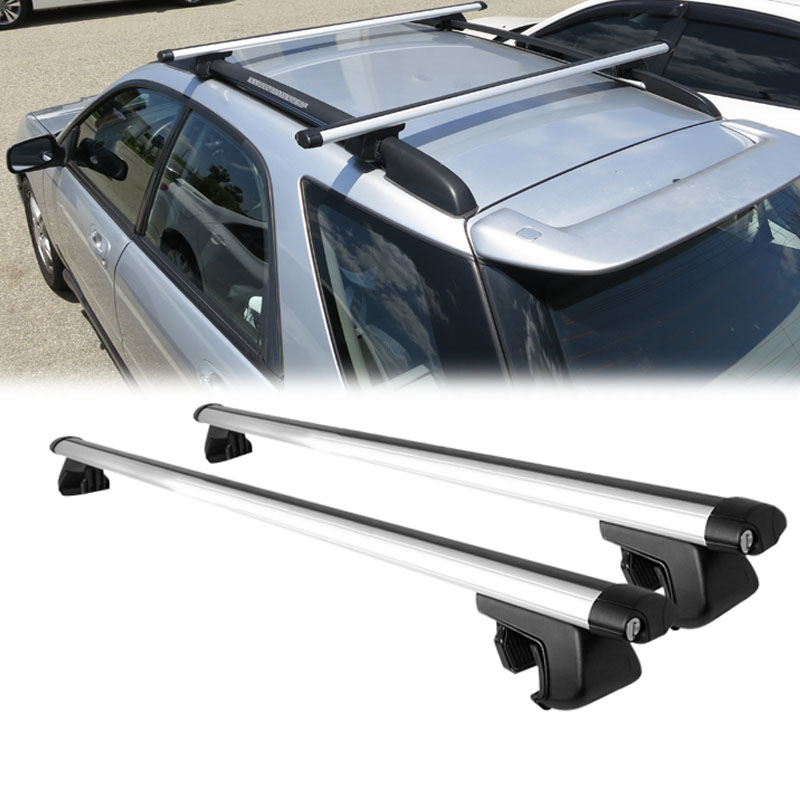 135 cm 53 roof rack cross bars car top travel carrier with