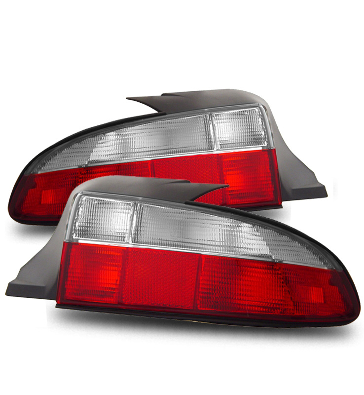 1996 1999 Bmw Z3 Raodster Euro Style Tail Lights Red Clear