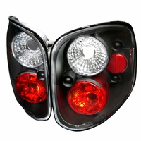 1997-2003 Ford F150 Flareside Altezza Tail Lights - Black