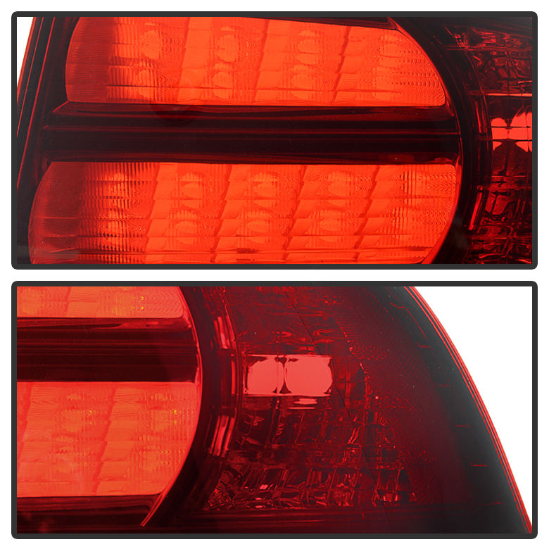 2004-2008 Acura TL [Type-S Style] Tail Lights Assembly
