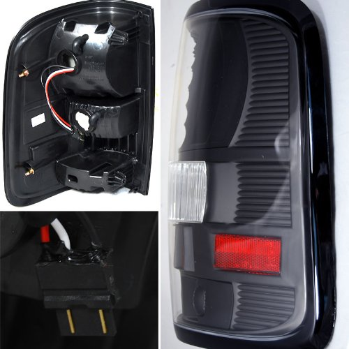 2004 2008 ford f150 f 150 pickup performance led tail lights smoked. Black Bedroom Furniture Sets. Home Design Ideas