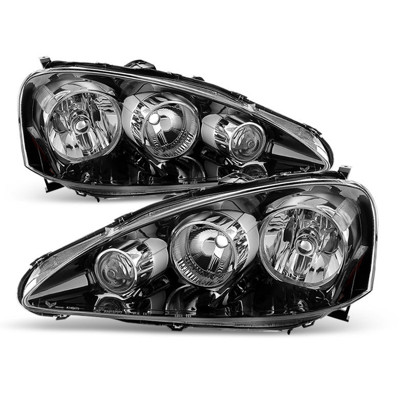 2005-2006 Acura RSX Crystal Replacement Headlights