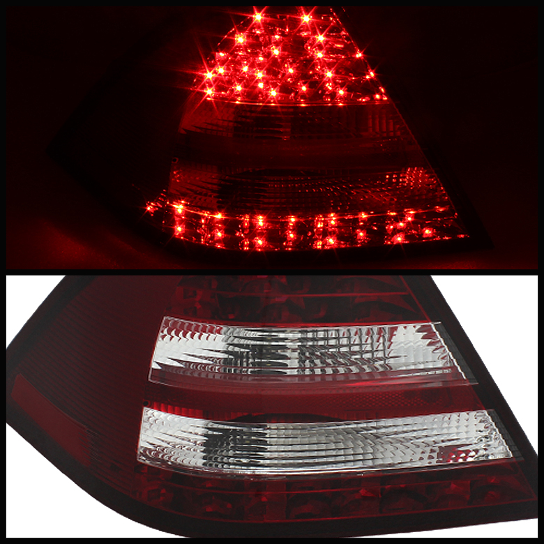 2005-2007 Mercedes Benz C-Class W203 Euro Style LED Tail ...