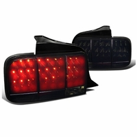 2009 ford mustang sequential turn signal led tail lights smoked. Black Bedroom Furniture Sets. Home Design Ideas