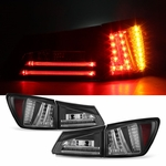 2006-2008 Lexus IS250 IS350 Performance LED Tail Lights - Black