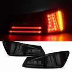 2006-2008 Lexus IS250 IS350 Performance LED Tail Lights - Black Smoked