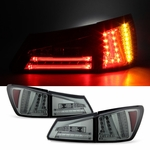 2006-2008 Lexus IS250 IS350 Performance LED Tail Lights - Smoked