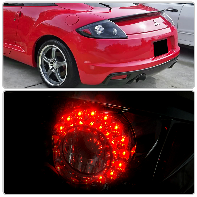 2006 2011 mitsubishi eclipse gs gt spyder coupe convertible led tail light