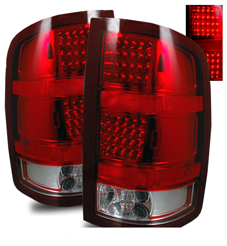 2007 2010 gmc sierra full performance led tail lights. Black Bedroom Furniture Sets. Home Design Ideas
