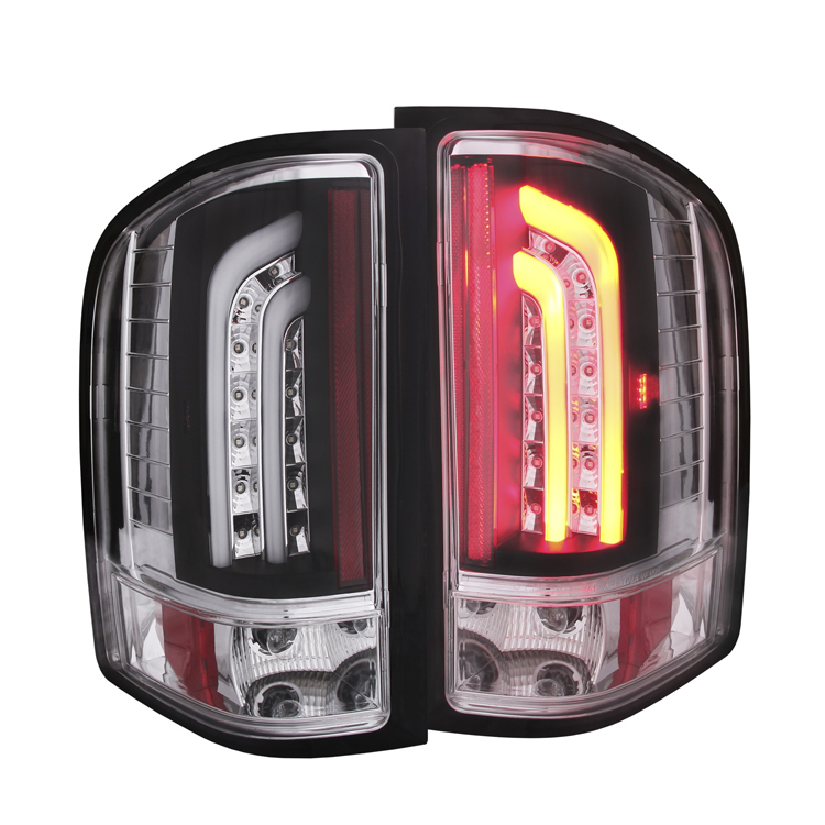 2007 2013 chevy silverado g2 performance led tail lights black. Black Bedroom Furniture Sets. Home Design Ideas