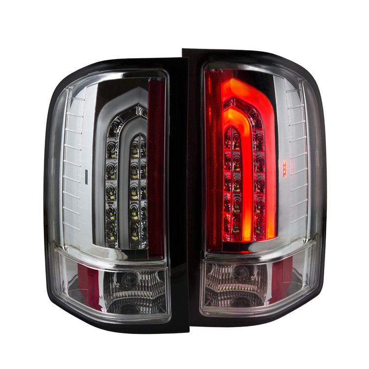 2007 2013 chevy silverado g2 performance led tail lights chrome. Black Bedroom Furniture Sets. Home Design Ideas