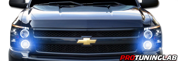 Halo Fog Lights Chevy Silverado 2007-2013 Chevy Silverado Halo