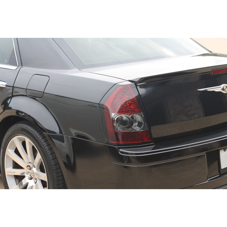 Chrysler 300 2006 Black Led Tail Lights: 2008-2010 Chrysler 300C Performance LED Tail Lights
