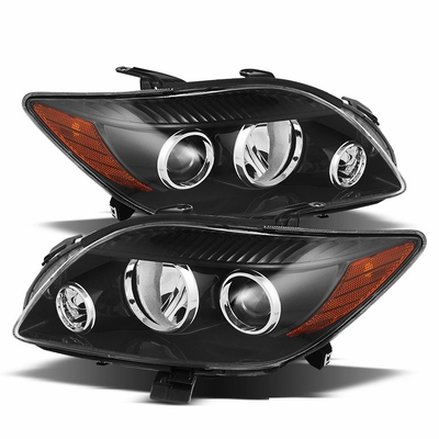 Scion Tc Replacement Projector Headlights Assembly Black