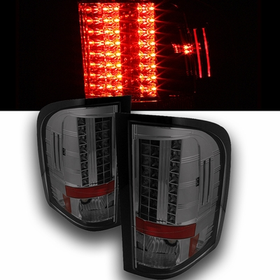 2009 2010 chevy silverado euro style led tail lights. Black Bedroom Furniture Sets. Home Design Ideas