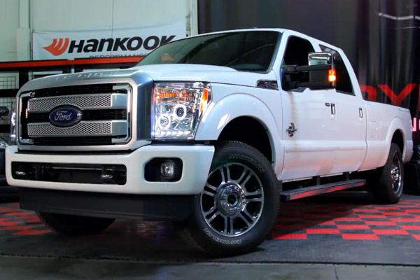 2011 2016 Ford F250 F350 Superduty Led Halo Projector
