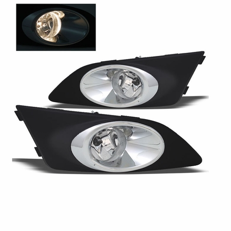 2012-2014 Chevy Sonic OEM Style Replacement Fog Lights Kit - Clear