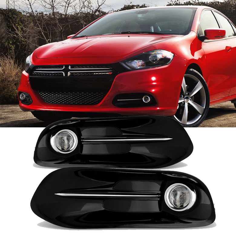 2013-2015 Dodge Dart OEM Style Replacement Fog Lights Kit