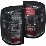 2014-2015 GMC Sierra (New Body Style) Performance LED Tail Lights - Smoked