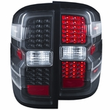 2014+ Chevy Silverado 1500 (New Body Style) LED Performance Tail Lights - Black