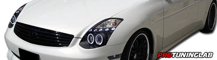 how to change a headlight on a g35 coupe