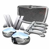 300/300C 17PCS CHROME GRILL + DOOR HANDLE + MIRROR COVER + PILLAR + EMBLEM TRIM KIT