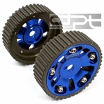 92-06 Mitsubishi Lancer 1.8L DOHC 4G93 Aluminum Adjustable Performance Cam Gear - Blue