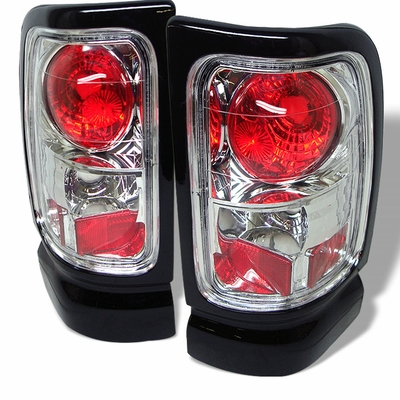 94 01 dodge ram 1500 2500 3500 euro altezza tail lights chrome alt. Black Bedroom Furniture Sets. Home Design Ideas